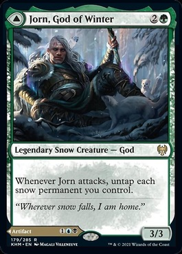 Jorn, God of Winter