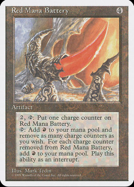 Red Mana Battery