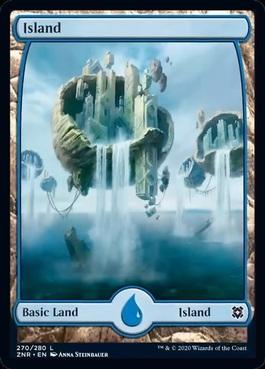 20x Full Art Zendikar Basic Land Near Mint never played MTG 1 of each art